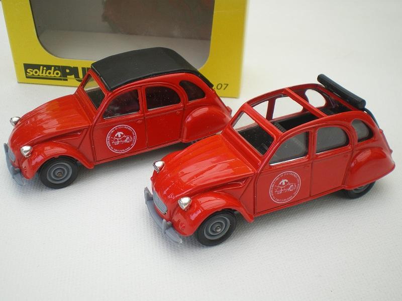 Citroën miniatures, on a fêté la 2CV Imgp2132