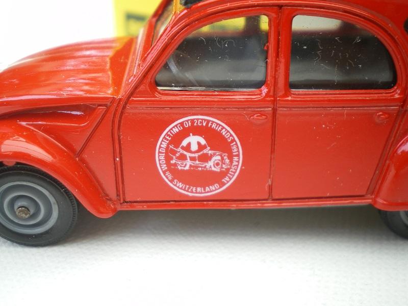 Citroën miniatures, on a fêté la 2CV Imgp2133