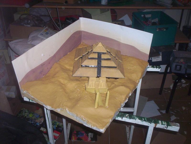 Diorama stargate pyramide de Ra 100_5018