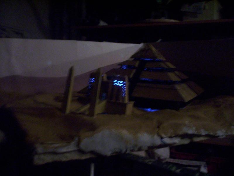 Diorama stargate pyramide de Ra 100_5019