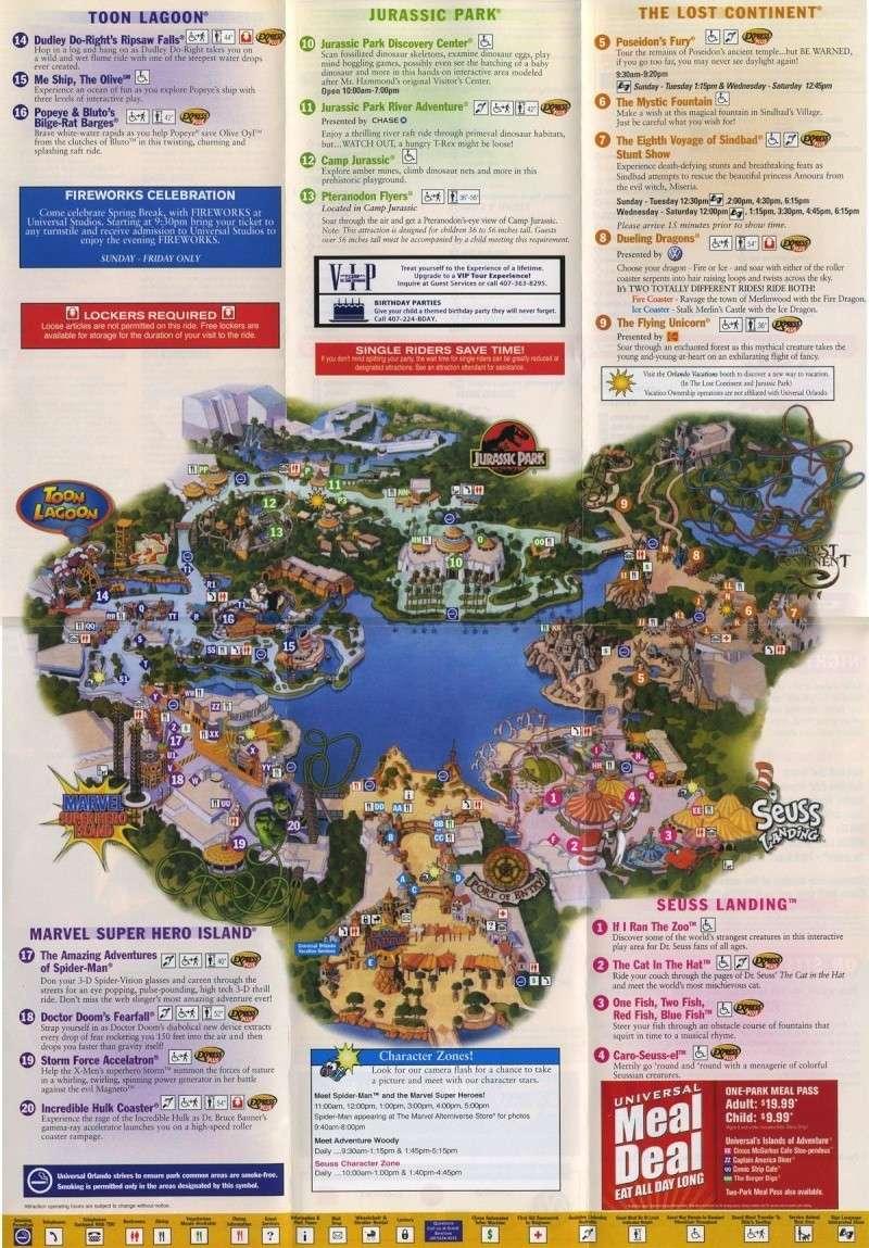 Islands of Adventure Map Ioamap10