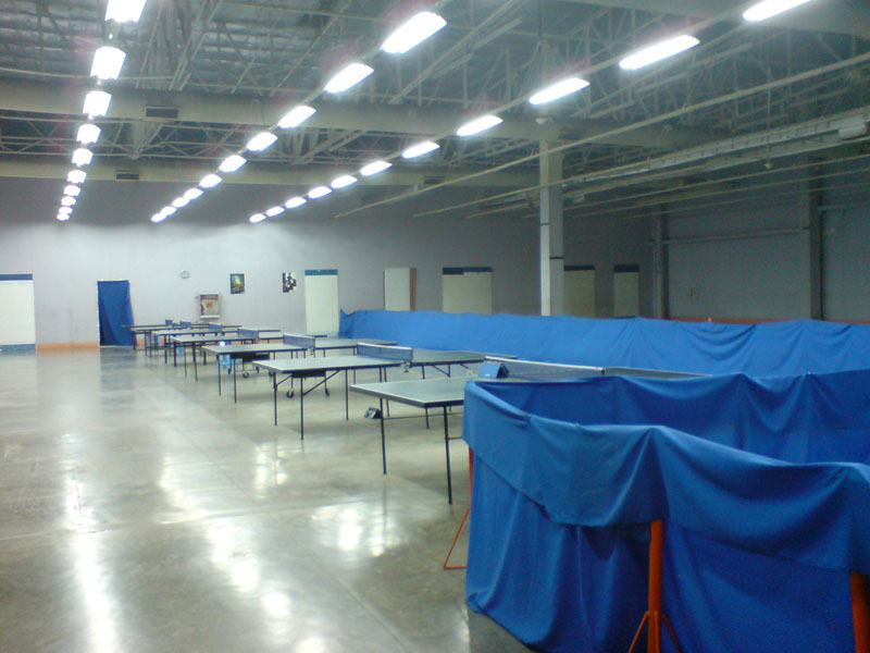 Vernlen Table Tennis Club venue Temp10