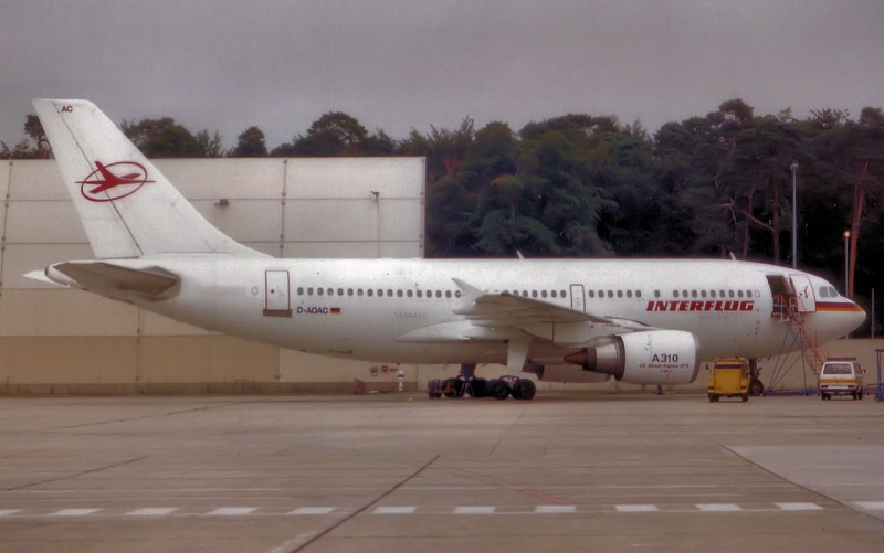 A310 in FRA D-aoac10