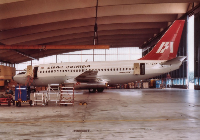 Air India/Indian Airlines B737 in FRA Vt-ehx10