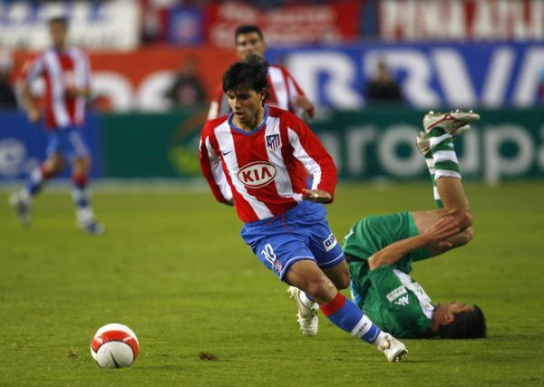 Candidature pour l'Atlético Madrid Aguero11
