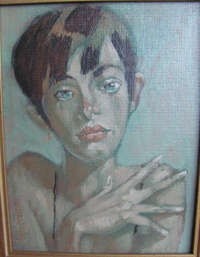 Oil on board portrait  Img_4210