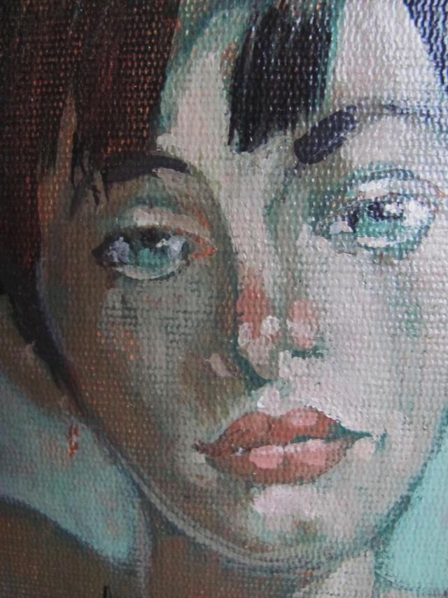 Oil on board portrait  Img_4211