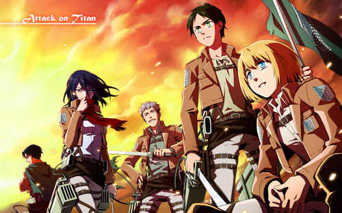 Shingeki no Kyojin - Attack on Titan Tumblr11