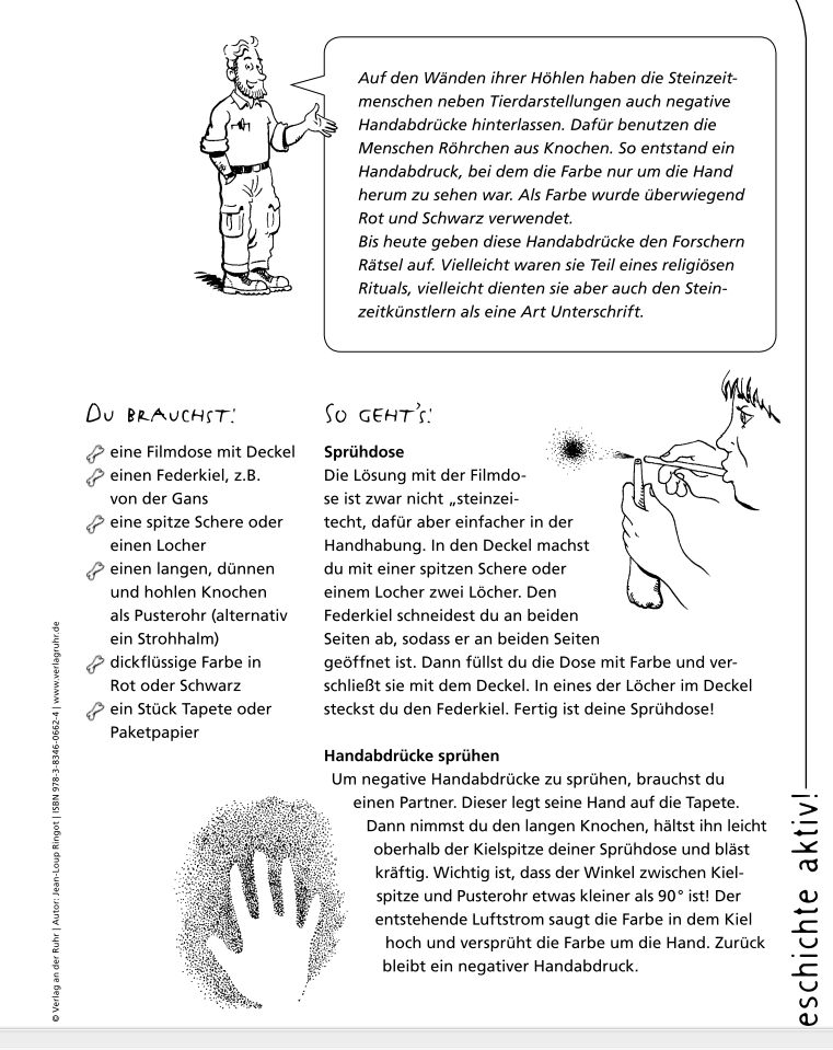 """Réaliser des peintures """"préhistoriques"""" Spraht10"""