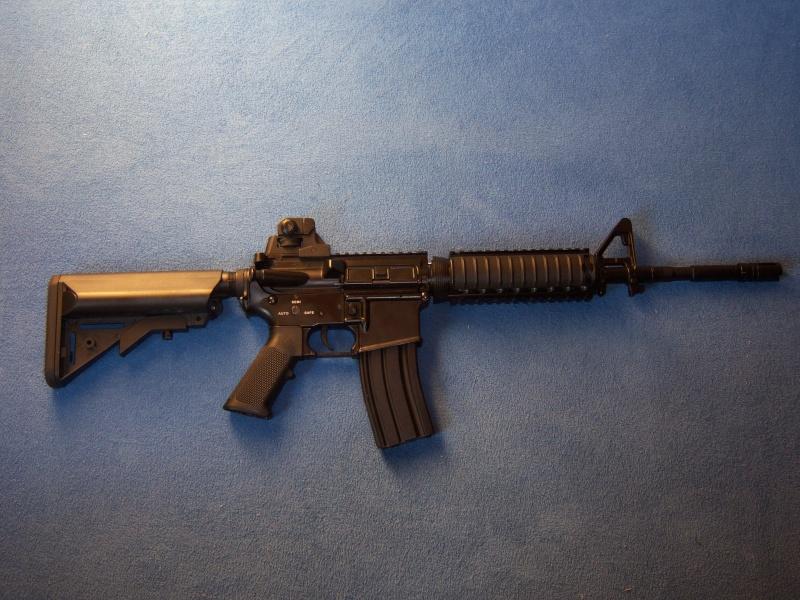 Er intrisert i å selge/bytte min Colt M4 CQBR - Full Metall || SOLGT || 100_0410