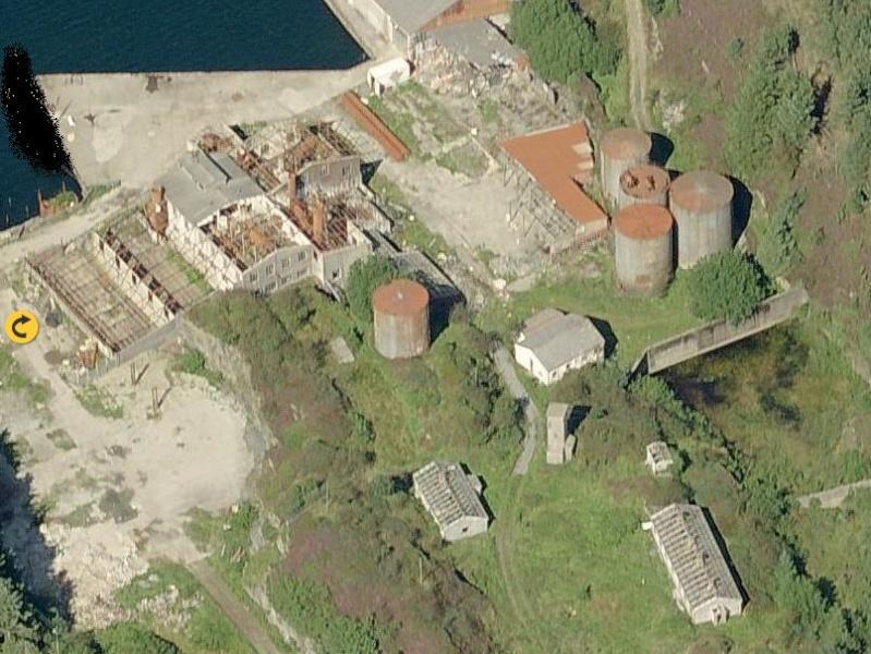 Den nedlagde silolje fabriken =D Sildol10