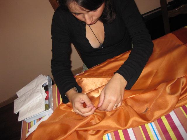 [MEDIEVAL] Robe pour femme enceinte avec le Simplicity S2573 Img_2224