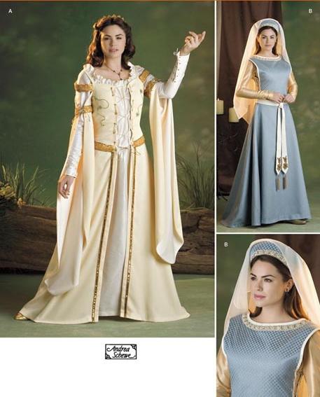 [MEDIEVAL] Robe pour femme enceinte avec le Simplicity S2573 S257310