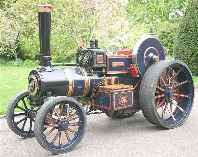 """4"""" Burrell Scenic Showmans / Road Loco / Agricultural Engine Firm Pricing 2501-a12"""
