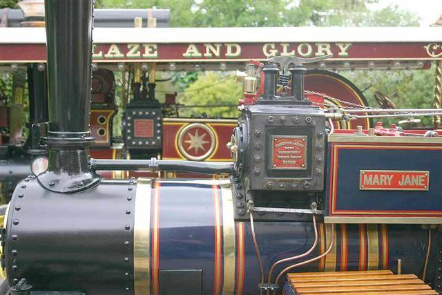 """4"""" Burrell Scenic Showmans / Road Loco / Agricultural Engine Firm Pricing 2501-w11"""