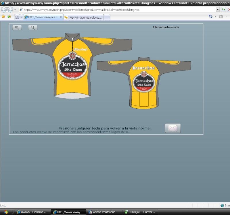 Encuesta para elección de camisetas Jarnac14