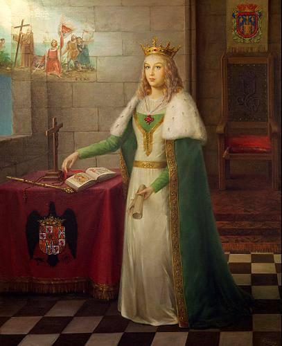 ISABELLE D'ESPAGNE (ISABELLE LA CATHOLIQUE) anglais/français - Page 2 23915842