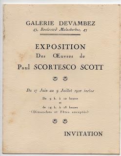 """Un mystérieux roumain exilé: """"Prince Scortesco"""". Qui était-ce? (roumain/français) Epson210"""