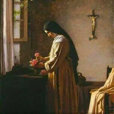 LA CHARITÉ (par un Disciple de Saint Dominique) (en français) Nun_410