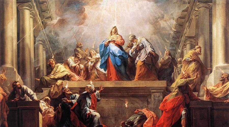 MÉDITATIONS POUR LE TEMPS PASCAL par SAINT THOMAS D'AQUIN, O.P.  - Page 3 Pentec10