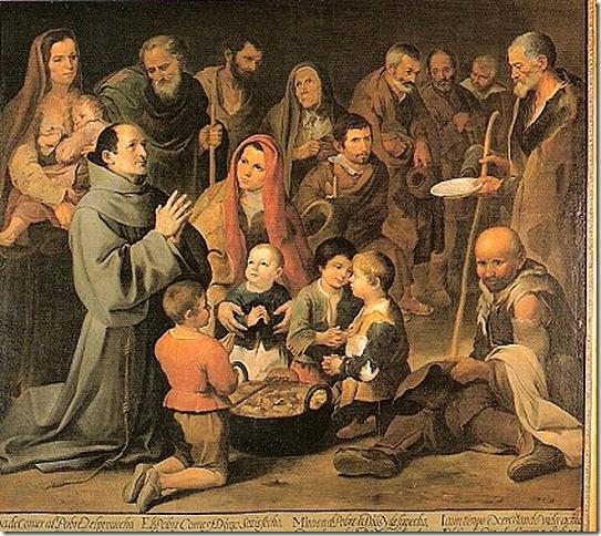 Citations des Pères de l'Eglise concernant l'AUMÔNE et la CHARITÉ (en espagnol/français) San_di10