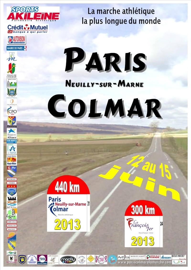 les affiches du Paris-Colmar 2013  97986410