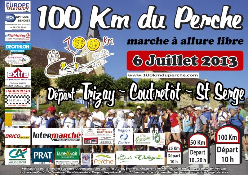 100 km du Perche : 06 juillet 2013 Affich12