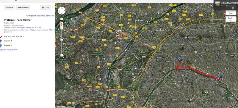Le parcours du Paris-Colmar 2013 Parcou10