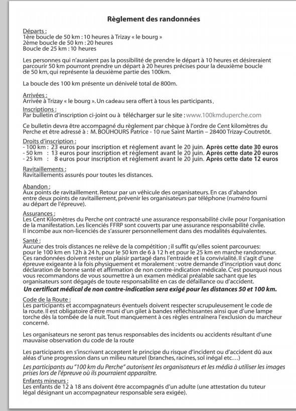100 km du Perche : 06 juillet 2013 Raglem10