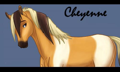 Cheyenne _ La jument à la crinière volante Cheyen11