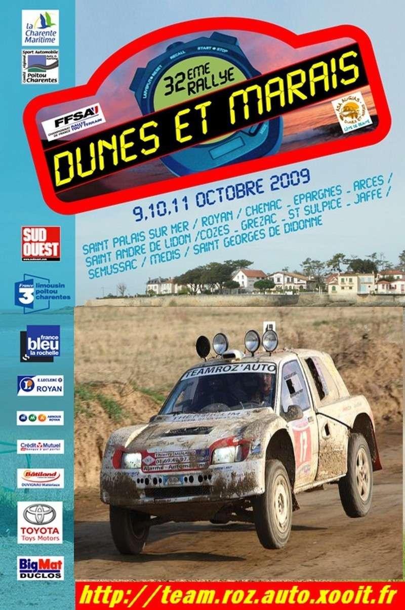La team roz'auto au dunes et marais Affich10