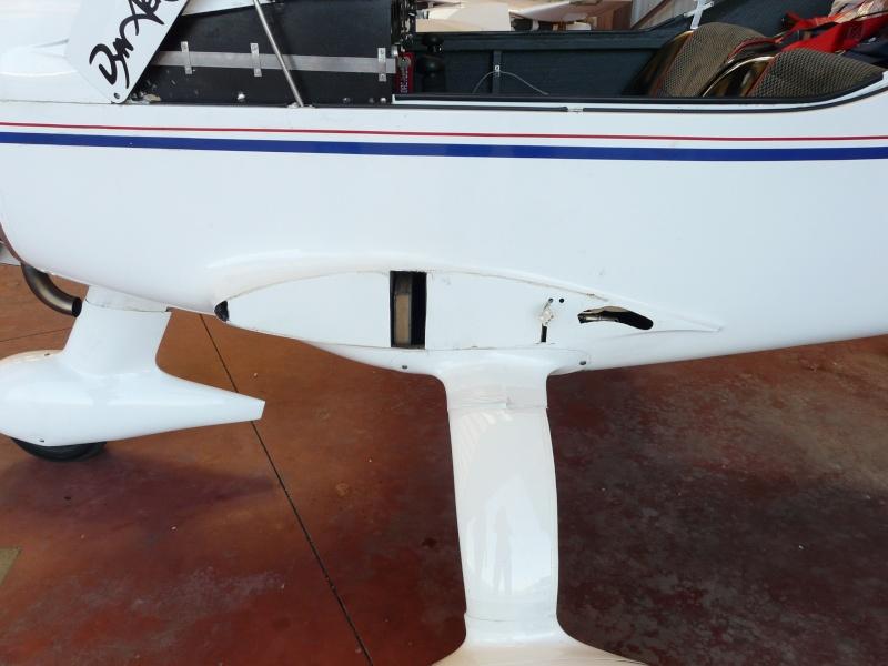 Dépose des ailes et traitement de la corrosion Depose13