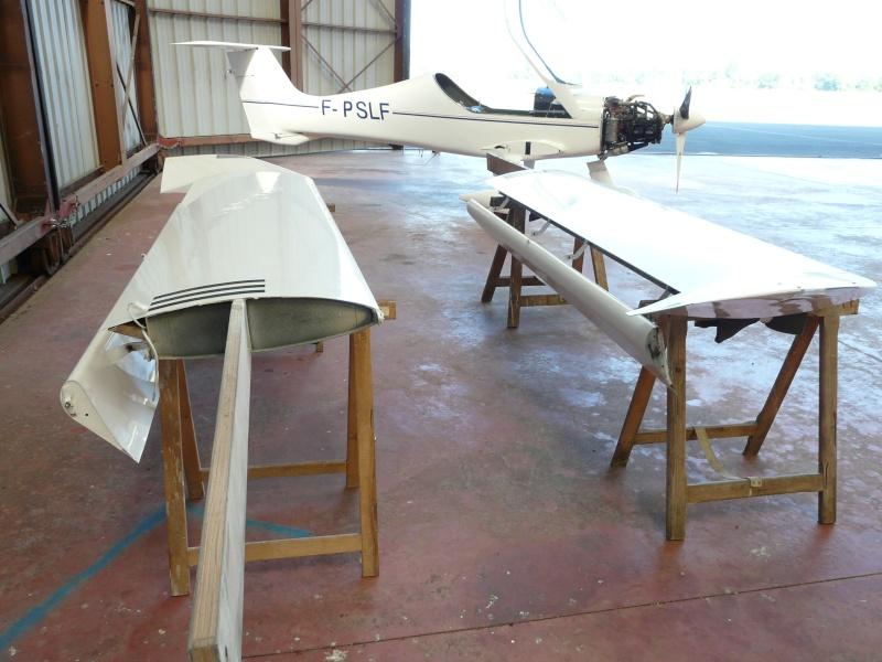 Dépose des ailes et traitement de la corrosion Depose14