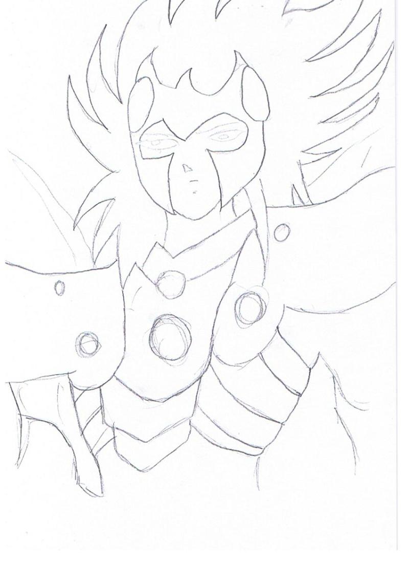 dessin de l'oiseau des enfers Dessin12