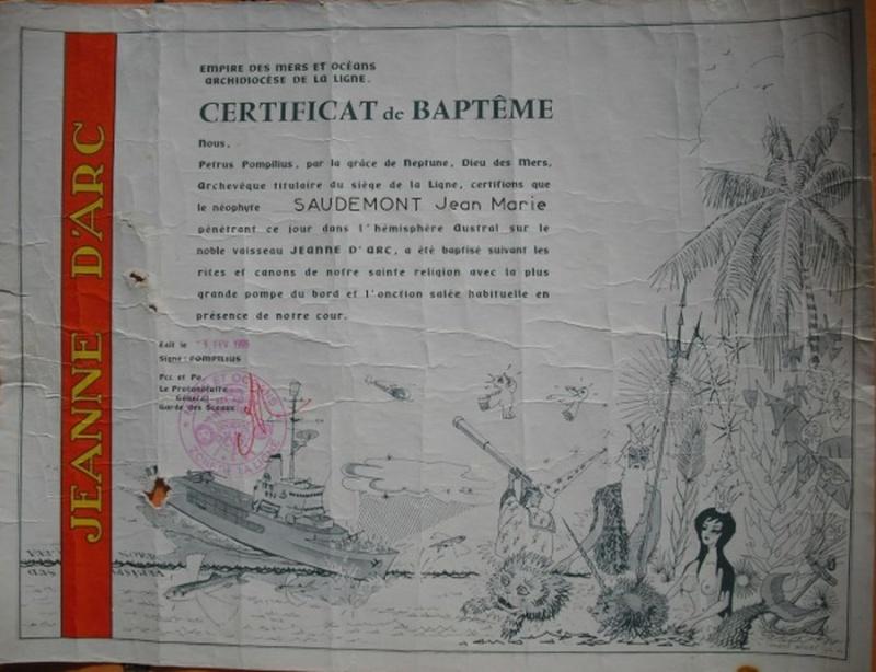 [ Les traditions dans la Marine ] Les diplômes de la Ligne - Page 3 219