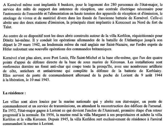 [ Histoires et histoire ] Les villas de Kernevel 233