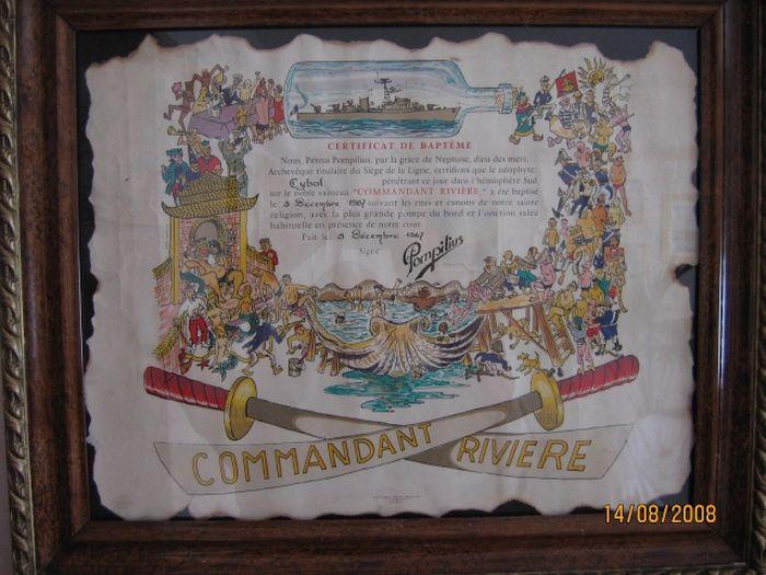 [ Les traditions dans la Marine ] Les diplômes de la Ligne - Page 2 Cybal_10