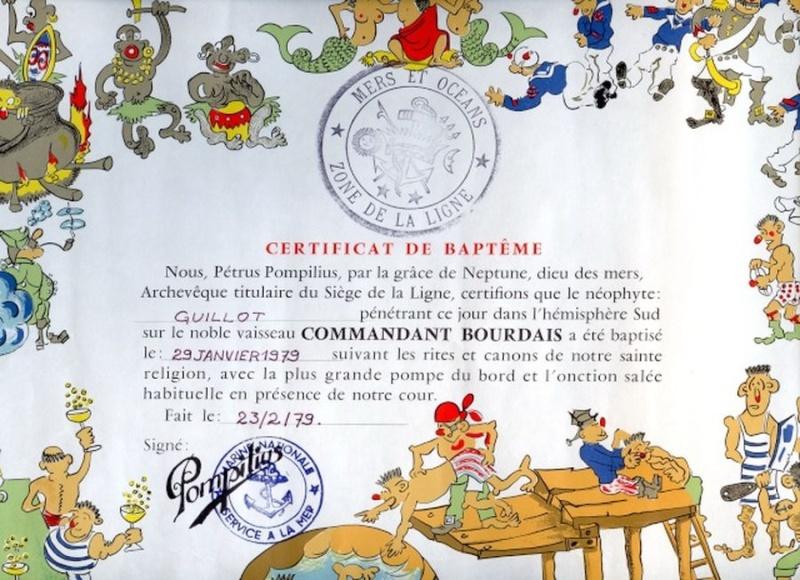 [ Les traditions dans la Marine ] Les diplômes de la Ligne - Page 3 Diplom10