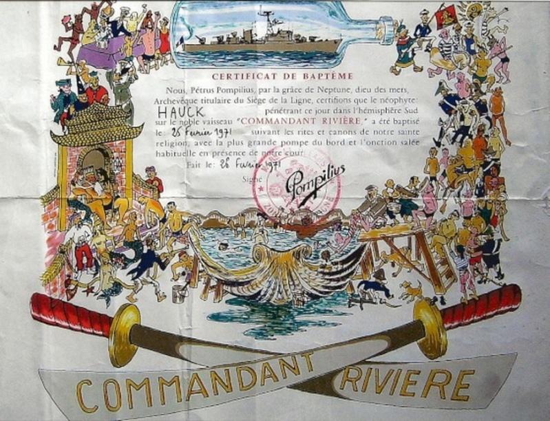 [ Les traditions dans la Marine ] Les diplômes de la Ligne - Page 3 Numeri10