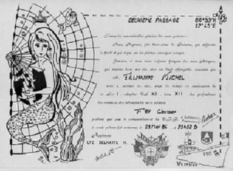 [ Les traditions dans la Marine ] Les diplômes de la Ligne Trimad12