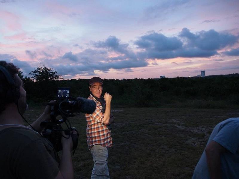 C'est pas sorcier fait escale au Centre Spatial Guyanais (tournage) Sans_t83
