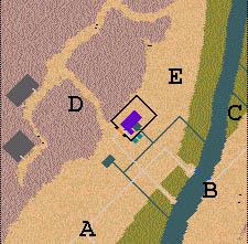 Descriptif : Missions Cléopâtre - Vallée des Rois Carte110