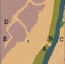 Descriptif : Missions Cléopâtre - Vallée des Rois Carte111