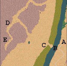 Descriptif : Missions Cléopâtre - Vallée des Rois Carte112