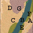 Descriptif : Missions Cléopâtre - Ramsès II Carte212