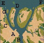 Descriptif : Missions Cléopâtre - Anciens conquérants Carte310