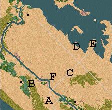 Descriptif : Missions Cléopâtre - Alexandrie Carte410
