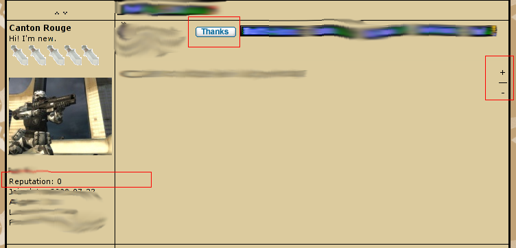 New Features Announcement Area Reputa11