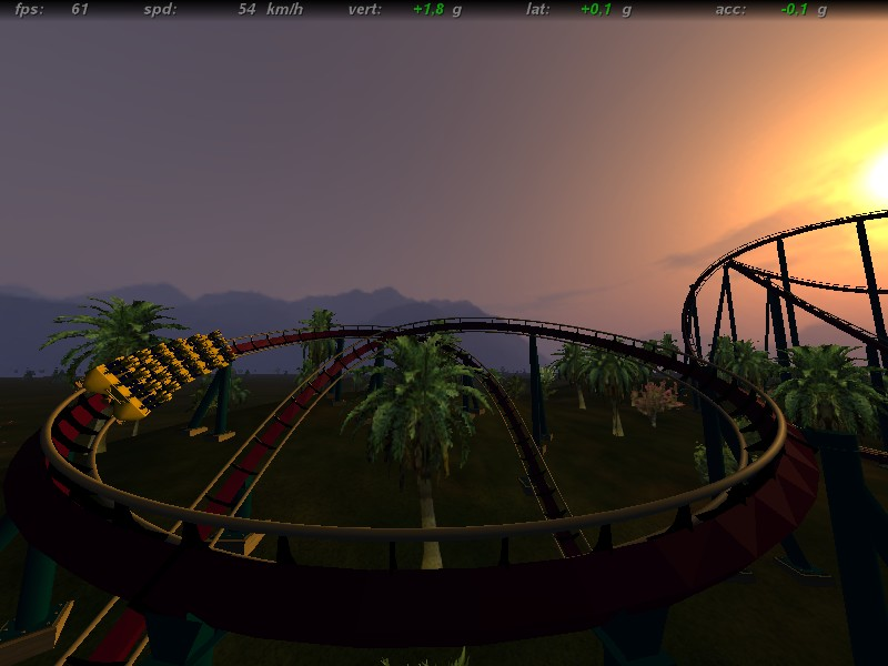 Screenshot no-limits/rct3 et compagnie Tropic10