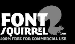 Font Squirrel 100% free for Commercial Use Fontsq10